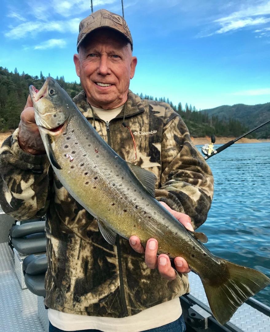 Shasta lake fish reports map for Lake shasta fishing report