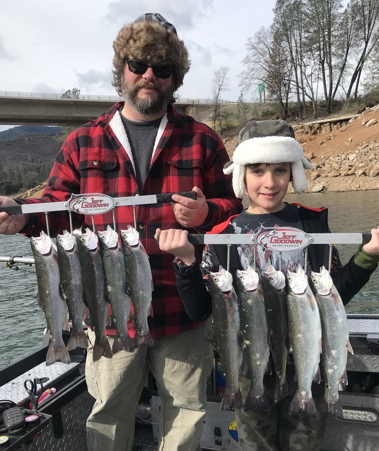 Fishing shasta lake trout fishing is very good for Shasta lake fishing report