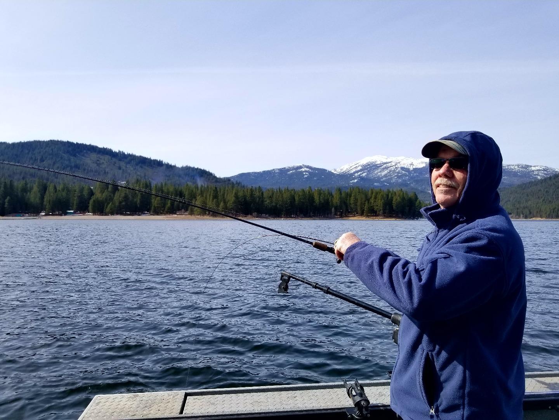 Siskiyou lake fish report mount shatsa ca siskiyou county for Lake shasta fishing report