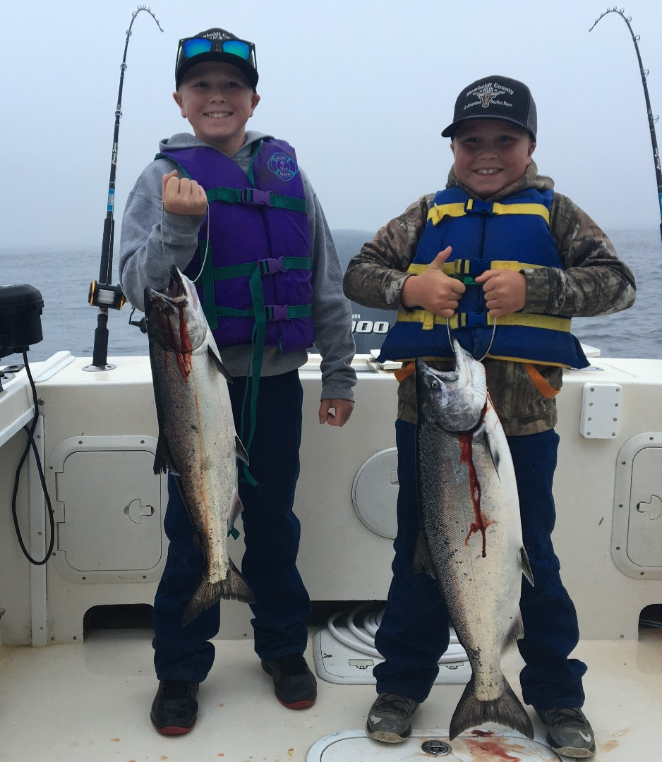 Klamath river lower fish report klamath ca humboldt for Salmon river fishing reports