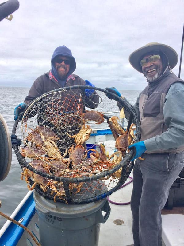 Dungeness Crab Counts by Boat - May 8, 2019