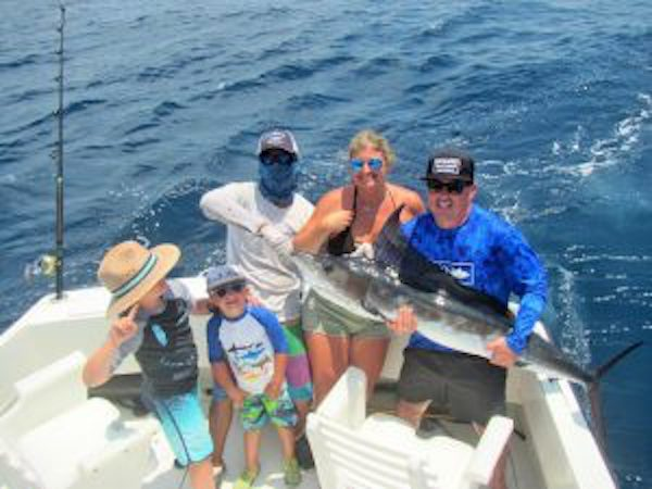 90 Lb. Striped Marlin