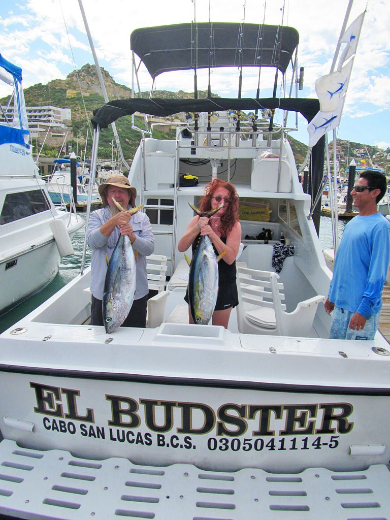 Yellowfin Bite on The El Budster