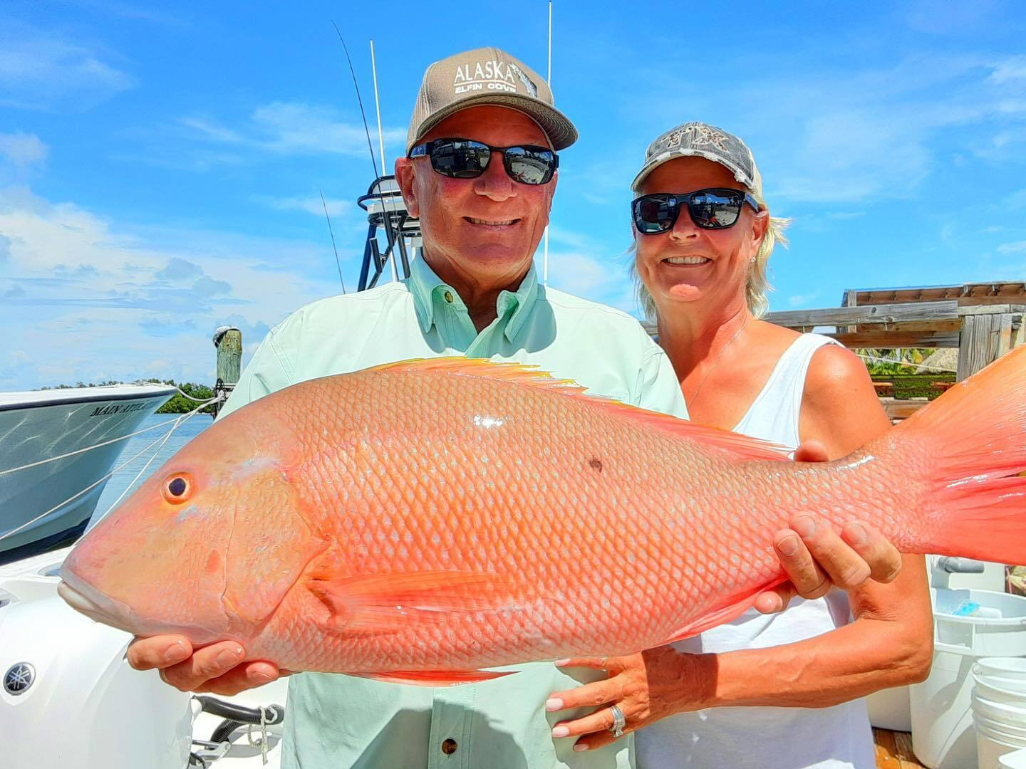 Huge Mutton Snapper!