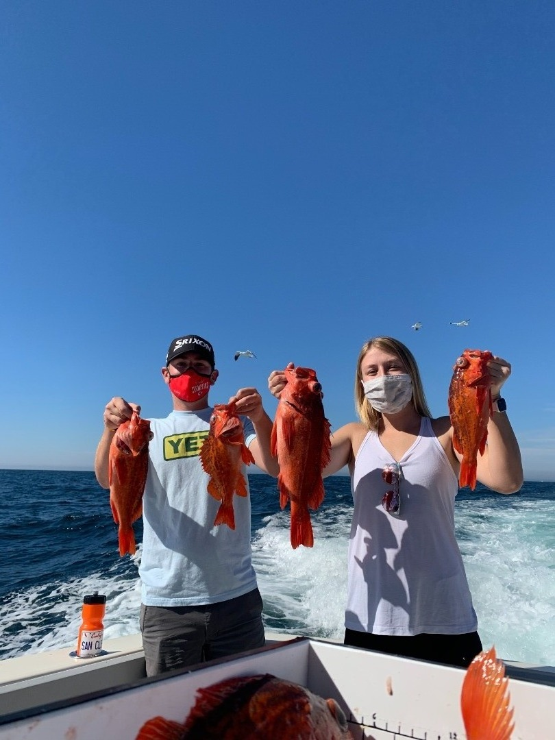 Rockfish season is here, Offshore is still in play
