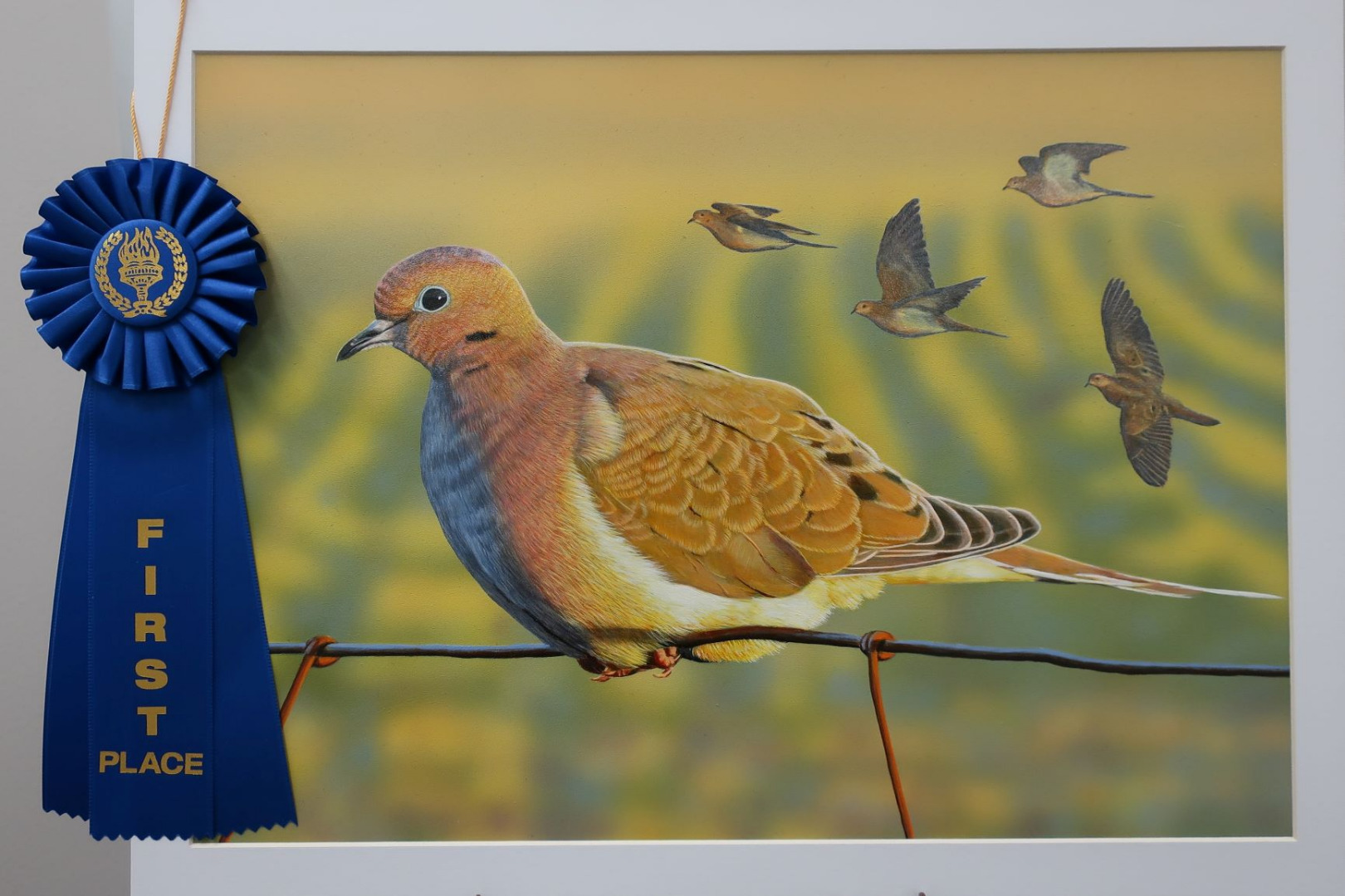 Oregon Artist Wins California Upland Game Bird Stamp Art Contest