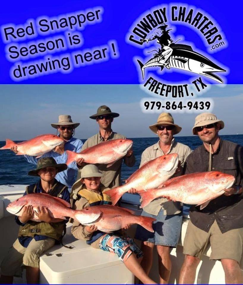 Red Snapper Season is Almost Here!