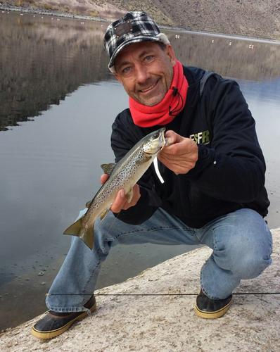 Pleasant valley reservoir fish report bishop ca inyo for Lake pleasant fishing report